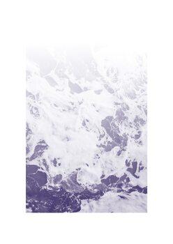 Illustration Purple Ocean