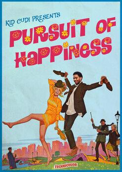 Illustration pursuit of happiness