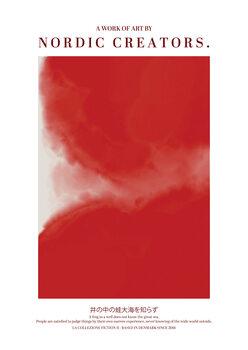 Illustration Red Japan