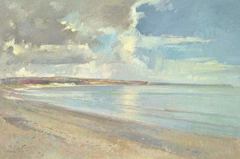 Fine Art Print Reflected Clouds, Oxwich Beach, 2001