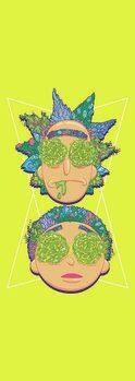Art Poster Rick & Morty - Labyrinth