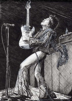 Fine Art Print Rock Star, 2009,