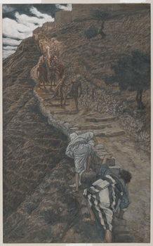 Fine Art Print Saint Peter and Saint John Follow from Afar