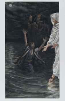 Fine Art Print Saint Peter Walks on the Sea