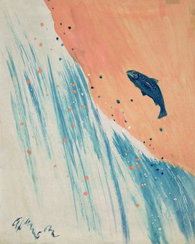 Fine Art Print Salmon Leap