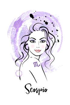 Illustration Scorpio