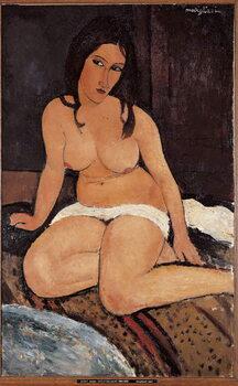 Fine Art Print Seated Nude - Peinture de Amedeo Modigliani