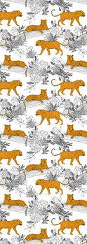 Illustration Serengeti Leopards