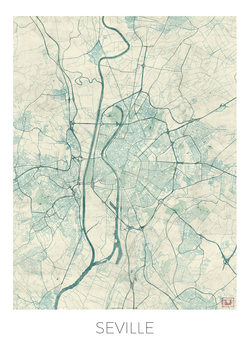 Map Seville