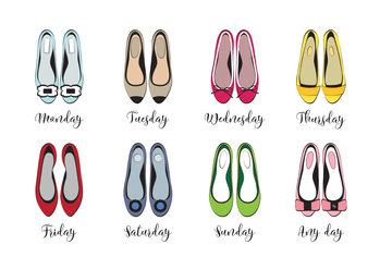 Illustration Shoe week