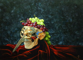 Fine Art Print Skull Head, 2008
