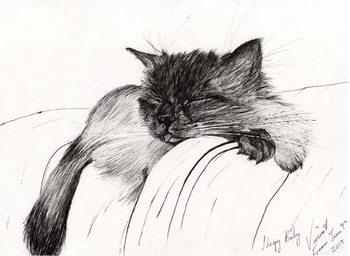 Taidejuliste Sleepy Baby, 2013,