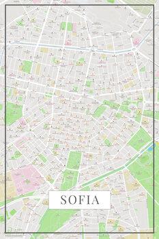 Map Sofia color