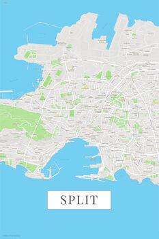Map Split color