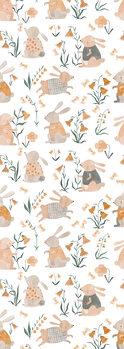 Illustration Spring Bunnies