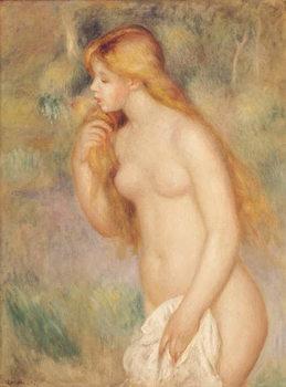 Reprodução do quadro Standing Bather, 1896