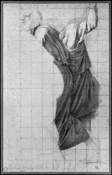 Fine Art Print Study for 'The Death of Socrates', c.1787