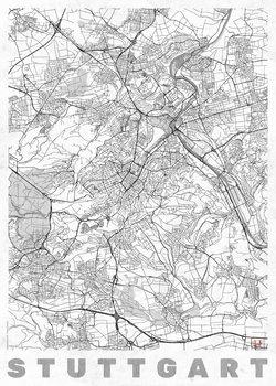 Map Stuttgard