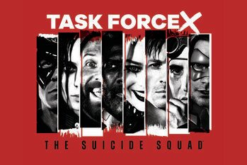 Art Poster Suicide Squad 2 - Task force X