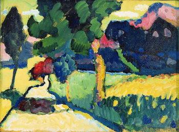 Reprodução do quadro Summer Landscape, 1909