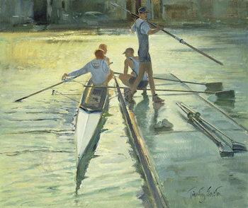 Reprodução do quadro Sunset Raft