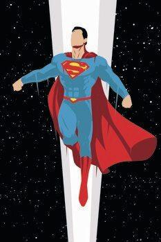 Impressão de arte Super Homem - Super Charge