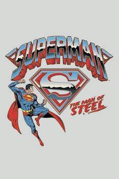 Impressão de arte Super Homem- The man of steel