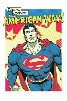 Poster Superman - American Way