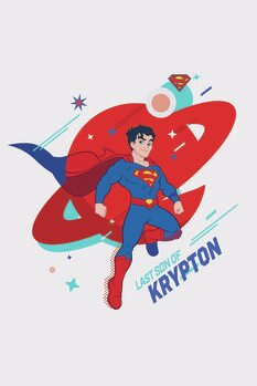 Impressão de arte Superman - Krypton
