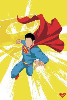Poster Superman - Power Yellow