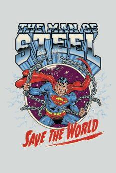 Impressão de arte Superman - Save the world