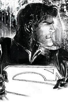 Impressão de arte Superman - Secret Identity
