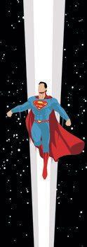 Impressão de arte Superman - Universe