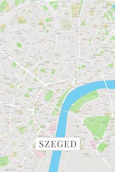 Map Szeged color