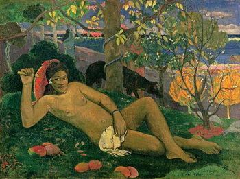 Reprodução do quadro Te Arii Vahine , 1896