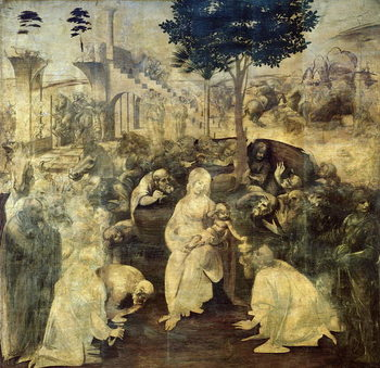 Taidejuliste The Adoration of the Magi, 1481-2
