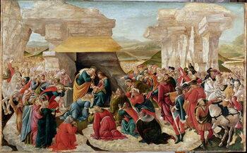Reprodução do quadro The Adoration of the Magi