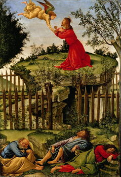 Fine Art Print The Agony in the Garden, c.1500