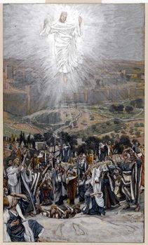Reprodução do quadro The Ascension from the Mount of Olives