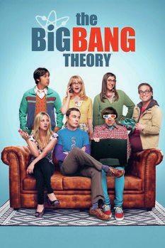 Poster The Big Bang Theory - Crew