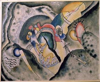 Reprodução do quadro The Black Stroke, 1920