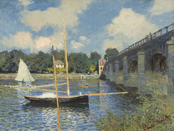 Taidejuliste The Bridge at Argenteuil, 1874