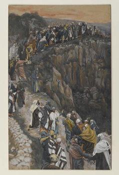 Fine Art Print The Brow of the Hill near Nazareth