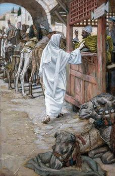 Reprodução do quadro The Calling of St. Matthew