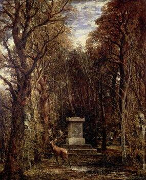 Fine Art Print The Cenotaph to Reynold's Memory
