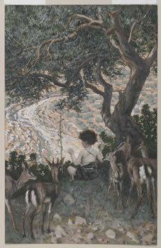 Reprodução do quadro The Childhood of Saint John the Baptist