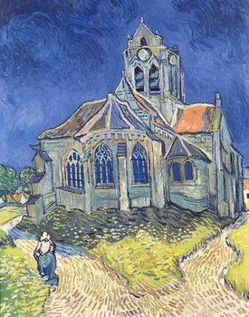 Fine Art Print The Church at Auvers-sur-Oise, 1890