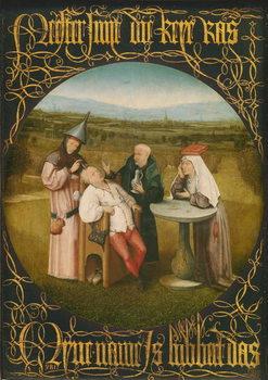 Reprodução do quadro The Cure of Folly, c.1494