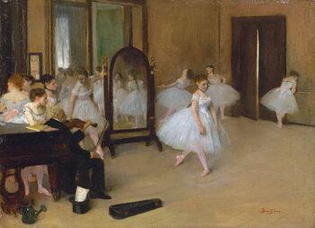 Fine Art Print The dance class, 1871