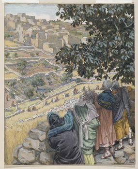 Fine Art Print The Disciples Eat Wheat